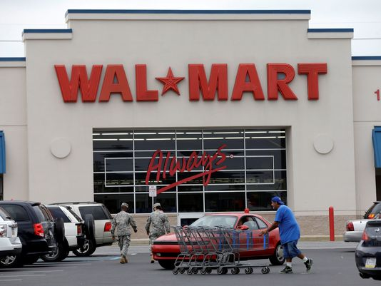 Wal – Mart Workers Protest For Hike In Salary
